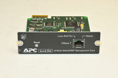 APC Smart Slot AP9606 Web/SNMP Management Card FULLY TESTED with warranty