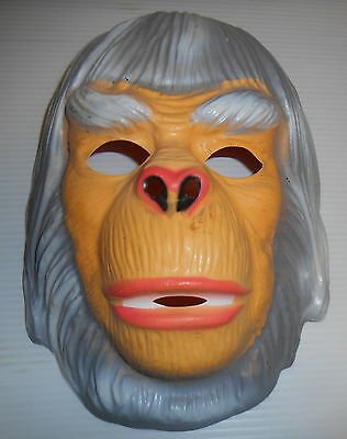 Planet Of The Apes Dr. Zaius Ben Cooper Mask Vintage 1970S Very Rare Nice