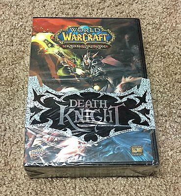 New World Of Warcraft Trading Card - Death Knight Deluxe Starter Factory Sealed
