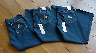 Lot Of 3 New Mens Bulwark Fr Jeans Size 40X32 Retail 57.99 Each