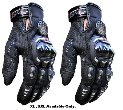 Adjustable Men Tactical Gloves Hard Knuckle Riding Army Shooting XL XXL Black