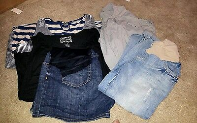 lot of maternity clothes XL old navy, mother hood, Liz lange,wall flower A4