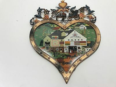 Charles Wysocki Peppercricket Charms First Issue LE Numbered Plate -- A0254