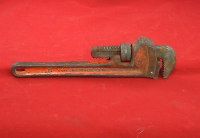 "RIGID PIPE WRENCH HEAVY DUTY 10""  with Used"