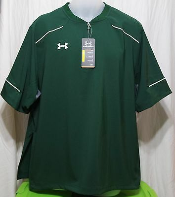 Under Armour Mens Team Ultimate Short Sleeve Cage Jacket, Green, 1252002 301