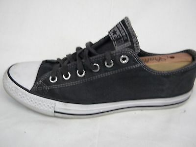 Men's Converse All Star Low Top Canvas Shoes Gray Size 10
