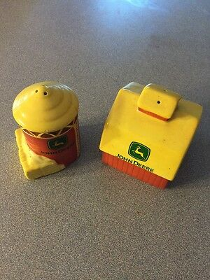John Deere Salt & Pepper Shakers - Barn & Silo