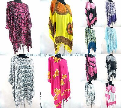 US SELLER- 10pcs wholesale plus size kaftan top dress cruise wear for ladies