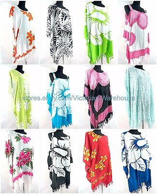 US SELLER- 10pcs wholesale Summer Clothes plus size kaftan top dress