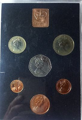 1978 Great Britain 6 Coins Proof Royal Mint Set