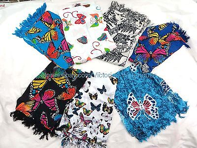 US SELLER-5 sarongs butterlfies accessories for girls