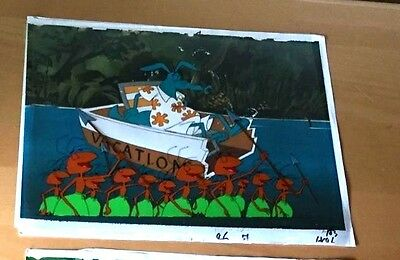 Pink Panther Ant And The Aardvark Production  Cel Hand Painted
