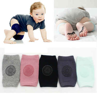 Kids Soft Anti-slip Elbow Cushion Crawling Knee Pad Infants Toddler Baby Safety