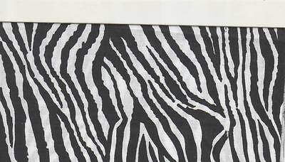 Zebra Stripe Checkbook Cover Brand New Fabric