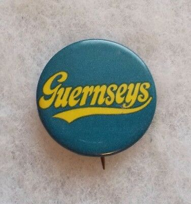 """Vintage Early 1900's """"guernseys"""" Button By The American Art Works Coshocton Oh"""