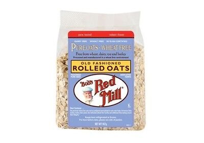Bob's Red Mill Rolled Oats Pure Wheat Free 907g