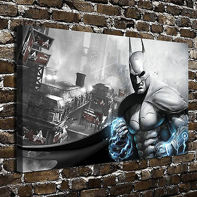 Batman: Arkham Asylum Posters HD Print on Canvas Home Decor Wall Art Paintings