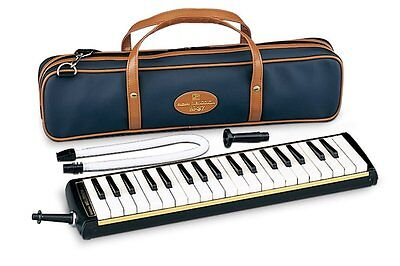 SUZUKI Keyboard Harmonica Melodion Alto M-37C with Soft Case from Japan