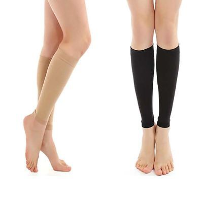 Leg Support Pair Relieve Varicose Veins Circulation Compression Socks Stocking