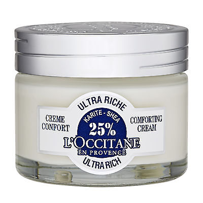 L'Occitane Shea Butter Ultra Rich Comforting Cream 50ml For Dry To Very Dry Skin