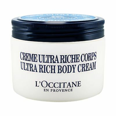 L'Occitane Shea Butter Ultra Rich Body Cream 200ml Bodycare Bath Moisturizing