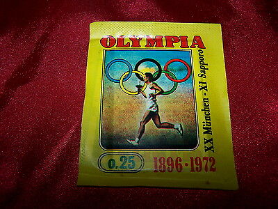 Panini/Olympia 1896 - 1972 1 sac/Bustina/seald Bag/pochette/packet/1972