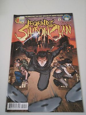 Legend of the Shaolin Clan Issue 1A