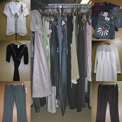 wholesale clothing lot of 68 high end contemporary $8500 Oleg Cassini  Valentino