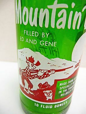 1965 Mountain Dew Bottle Filled By Ed and Gene