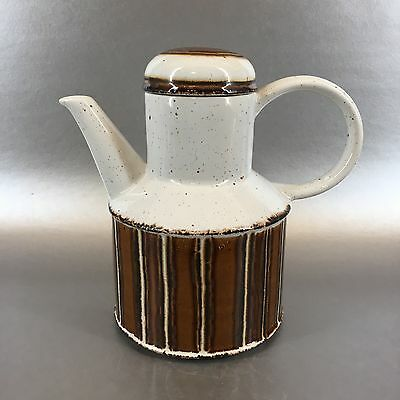 Midwinter Stonehenge England Pottery Coffee Pot Vintage Mid Century Earth