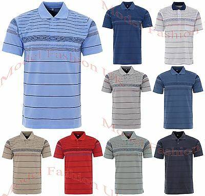 Mens Lucky Polo Button Shirts Summer Casual Top Cotton T-Shirt With Chest Pocket