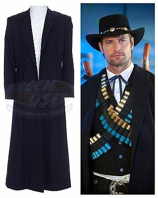 NBC Community:SCREEN USED WARDROBE PROP-Paintball Black Rider/Josh Holloway Coat