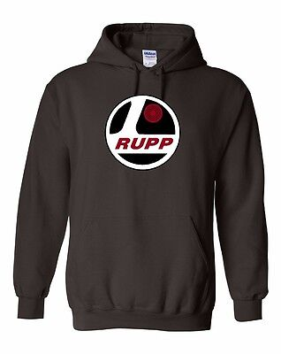 RUPP Vintage Snowmoible Hoodie Sweatshirt Sizes to 5XL