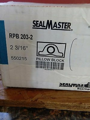 Rpb203-2 Sealmaster Pillowblock