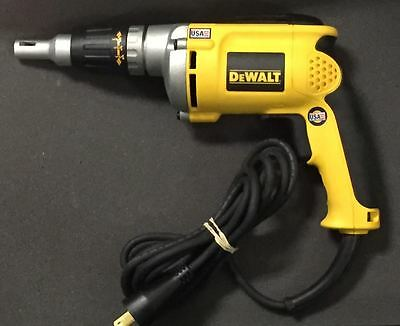 DeWalt DW272 - VSR Drywall Screwdriver Screwgun