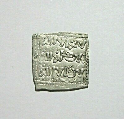 Islamic, Almohads, Anonymous Silver Dirham, C.13Th Century. Southern Europe