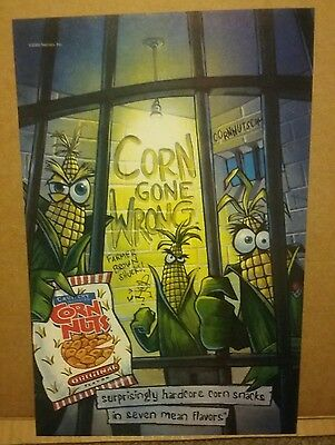 2000 Corn Nuts by Nabisco Corn Gone Wrong in Jail Ad