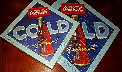 VTG Springbok Hallmark Coca Cola Advertising Coke Mini Puzzle COMPLETE