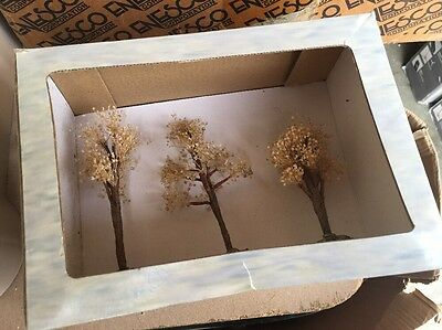Boyds Bearly-Built Villages Spring Has Sprung ARBORETUM COLLECTION~3 Trees~Town