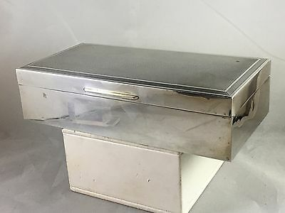 ESTATE! Vintage Sterling Silver Box by S J Rose & Son, London 1962 - No Reserve!