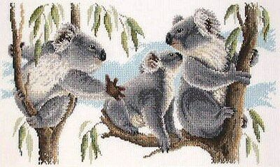 Koalas -  Cross Stitch Chart - Country Threads
