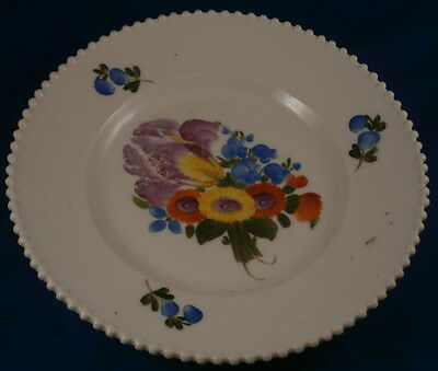Antique Russian Porcelain Private Factory Floral Plate Porzellan Teller Russia 2