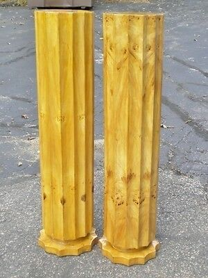 PAIR of Columns in Art Deco Style Pillars stands