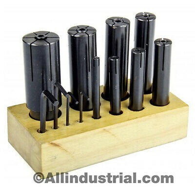 "8 Pc High Precision Expanding Arbors Set Mandrels 1/4"" To 1-1/4"" Lathe Milling"