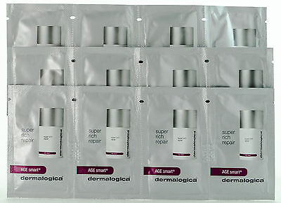 Dermalogica AGE Smart Super Rich Repair Sample Size (Package of 12) Sealed AUTH