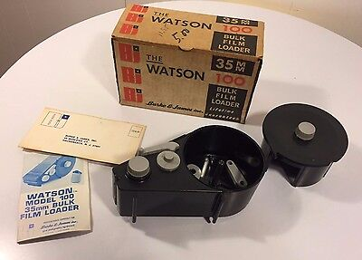 Vintage Watson 100 35Mm Bulk Film Loader With Box