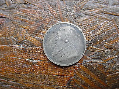 1897 South Africa 1 Shilling Silver Coin - Must See