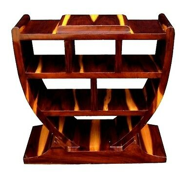 Rosewood Console Art Deco style bookcase console