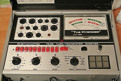 Sencore TC28 Tube and Transistor Tester - Just Calibrated - Excellent Condition!