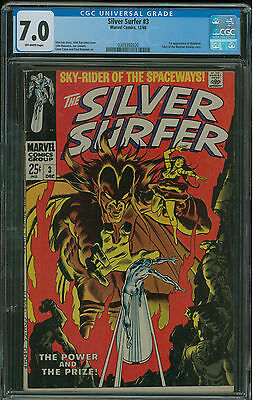 Silver Surfer #3 CGC 7.0 1st appearance  of Mephisto